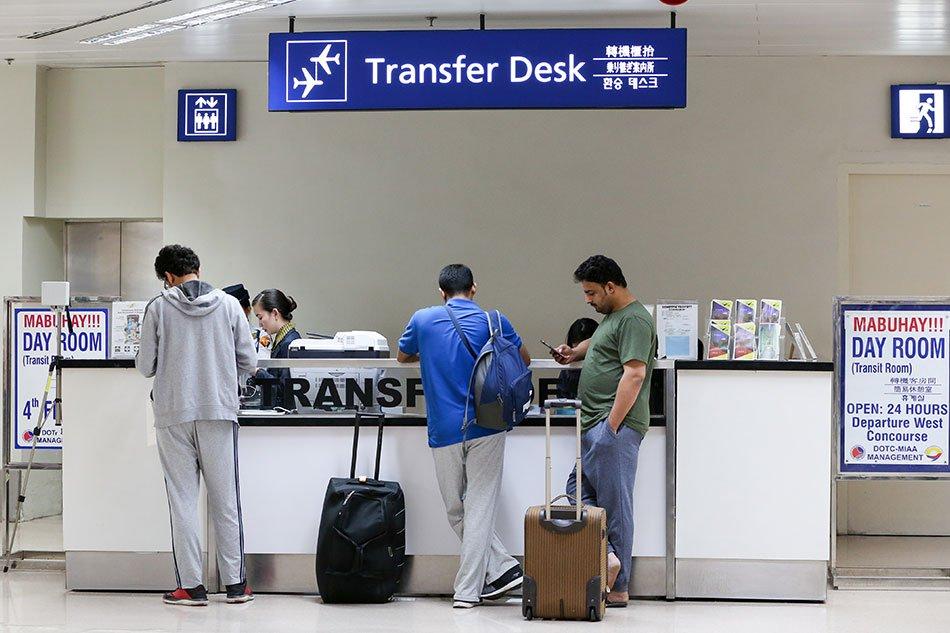 transfer desk bandara