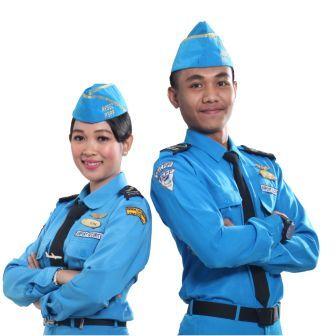 seragam utama avsec pspp
