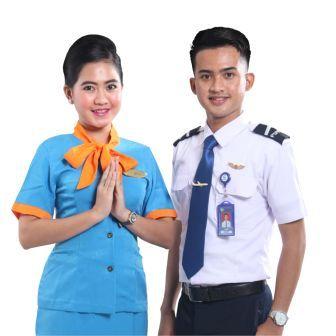 seragam utama staff penerbangan pspp